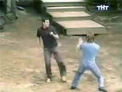 Фото драки в доме 2